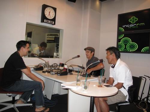 Jamming at the Radio Station