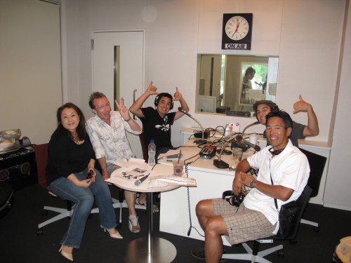 MDNA with Guy and Sayoko at InterFM Radio