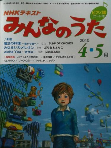 NHK's magazine featuring MDNA