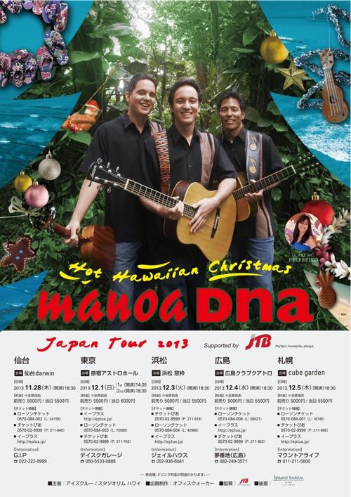 ManoaDNA Hot Hawaiian Christmas