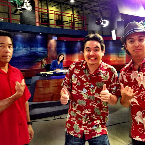 Good morning!  On @KITV4 morning with @mahealani & @moanikitv now! via Instagram