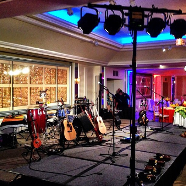 Repost from @alxkawakami!  Ready to rock at the Kahala tonight!  This party is rockin'! via Instagram
