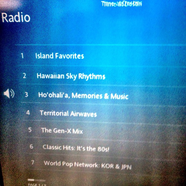 """If you get a chance to fly @hawaiianair, check out our """"Ho'ohali'a"""" radio show!"""