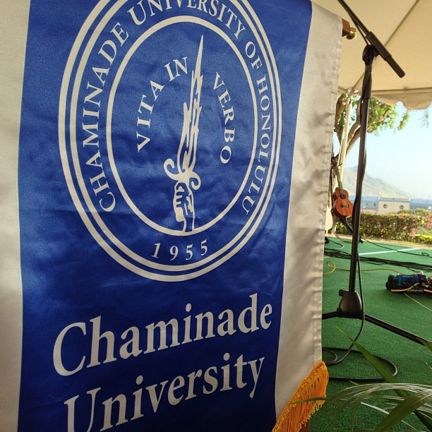 About to start at the @Chaminade_Univ alumni lu'au!  Happy Saturday everyone!