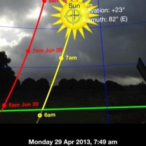 Using an app on his phone, Nick was able to guess the correct rise of the sun on a recent photoshoot!