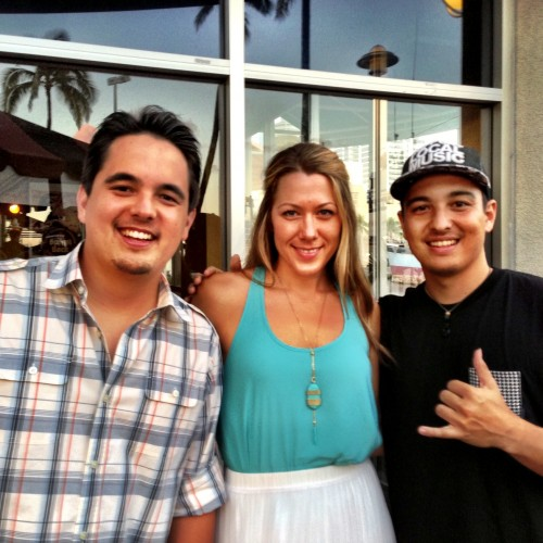 While attending Justin Young's release party, Nick & Alex were lucky to meet Colbie Caillat!