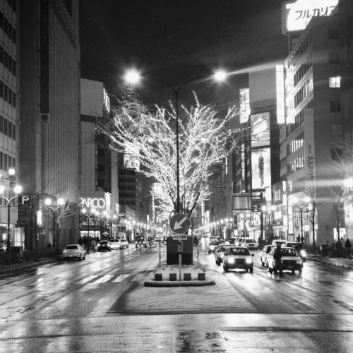 On a recent trip to Japan, Nick caught a beautiful picture of Sapporo City!
