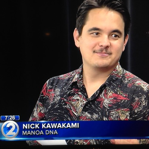 Nick talks about the upcoming 2013 toy drive on Wakeup2Day on KHON.