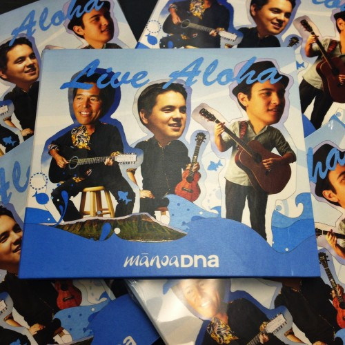 "Copies of ManoaDNA's 4th US studio album, ""Live Aloha"" are now available for purchase!"