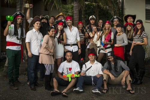 Celebrating Alex's 28th birthday, the gang dressed up as pirates for a high seas adventure!