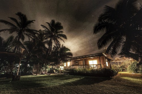 Laie, O'ahu at Night